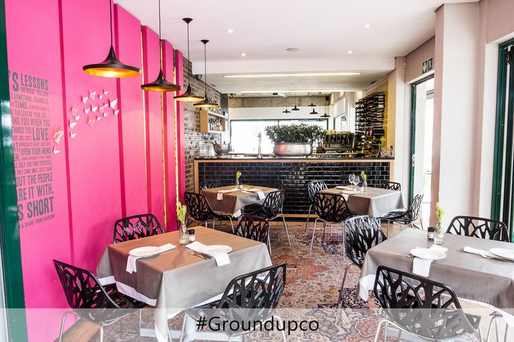 Pronto Bar, one of many successful renovations in the commercial sector #ProntoBar #GroundUPCo