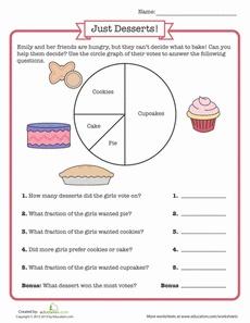 Circle Graph Worksheet