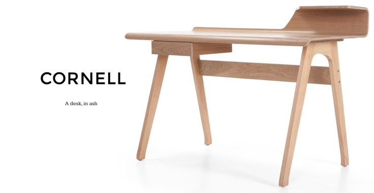 Cornell Desk in ash | made.com