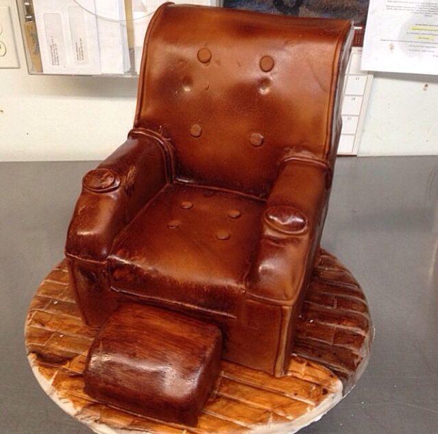 Recliner chair cake