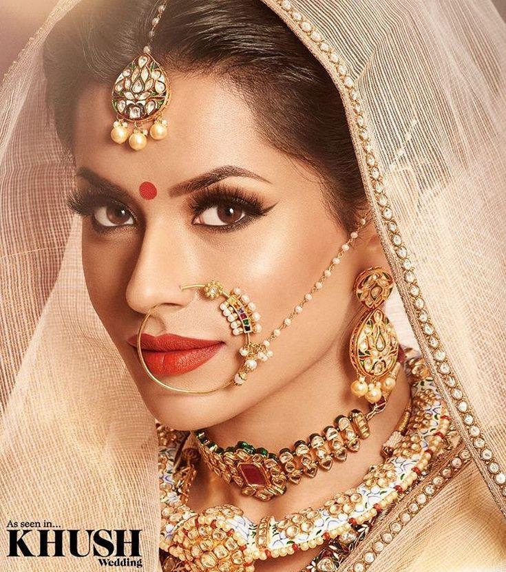 Best Bridal Makeup : Best 20+ Indian bridal makeup ideas on Pinterest