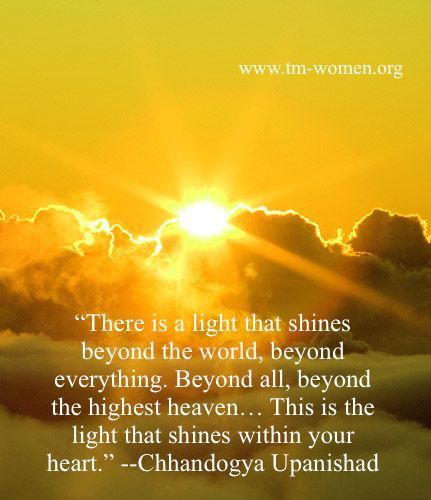 There is a light that shines beyond the world...This is the light that shines within your heart!!