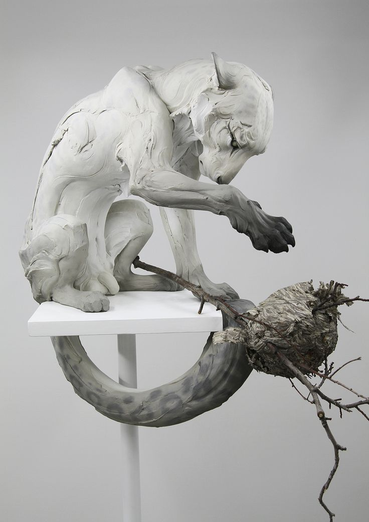 """Forgiveness"" beautiful sculpt by Beth Cavener, I really love his work"