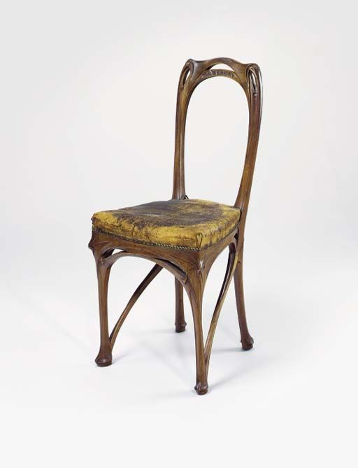 Dining Room Chair Maison Coillot Hector Guimard 1898 1900