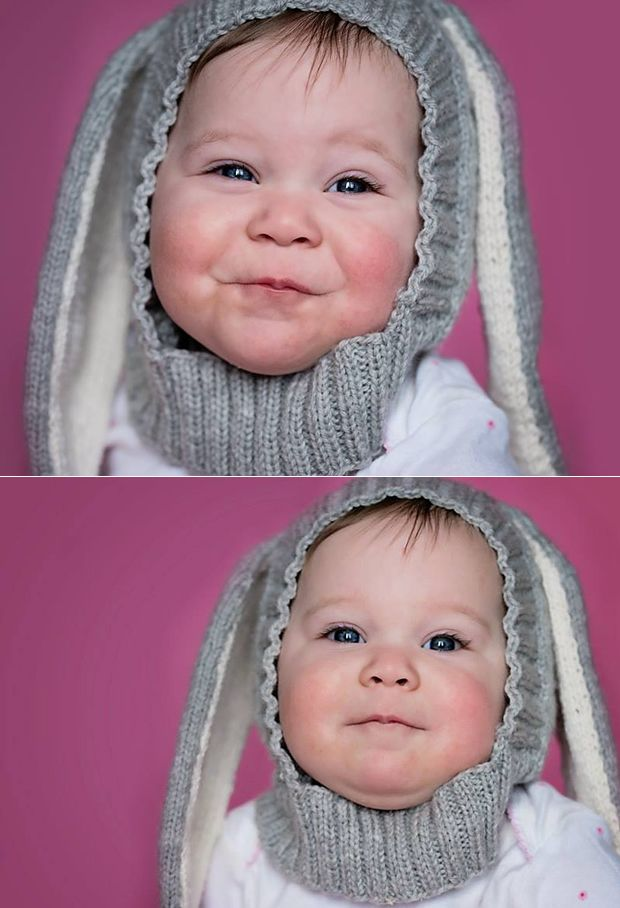 free funny bunny hat pattern