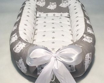 Nido del bebé con colchón de espuma babynest para recién