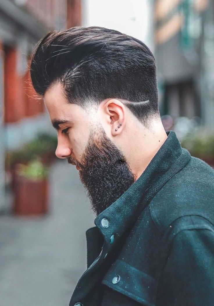 Disconnected Undercut Slick Back #menshairstyles