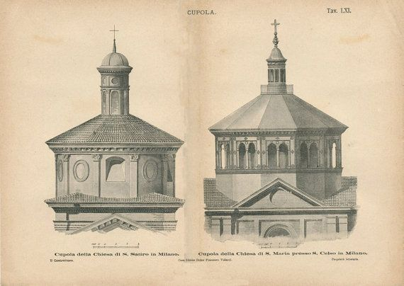 17 Best Images About Vintage Architectural Prints On