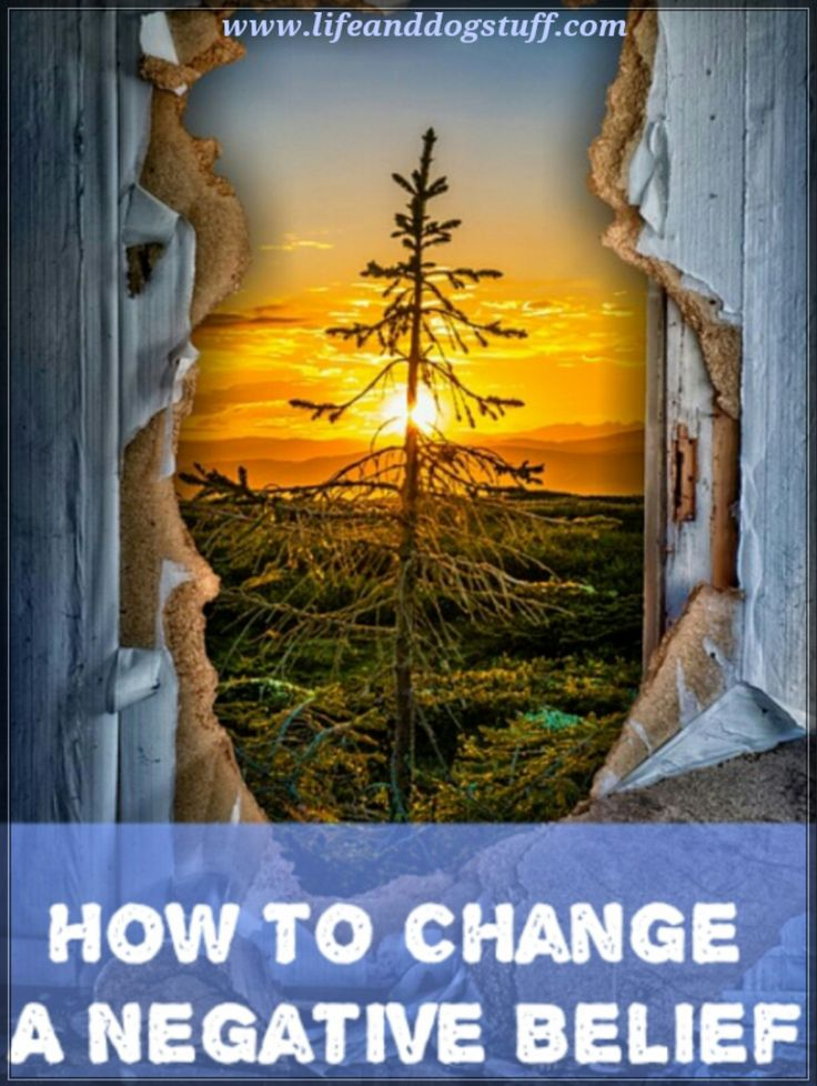 How to Change a Negative Belief #blogger #blog