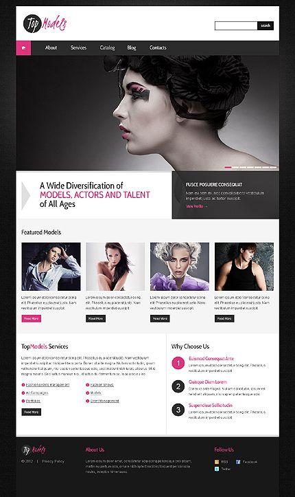 Top Models WordPress Themes by Svelte