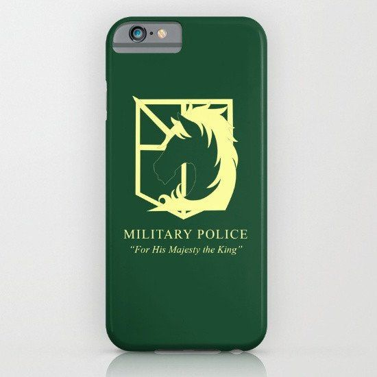 Attack On Titan - Military Police iphone case, smartphone