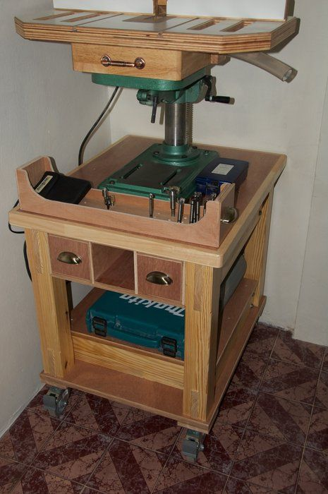 drill press stand plans - Google Search | tool storage ...