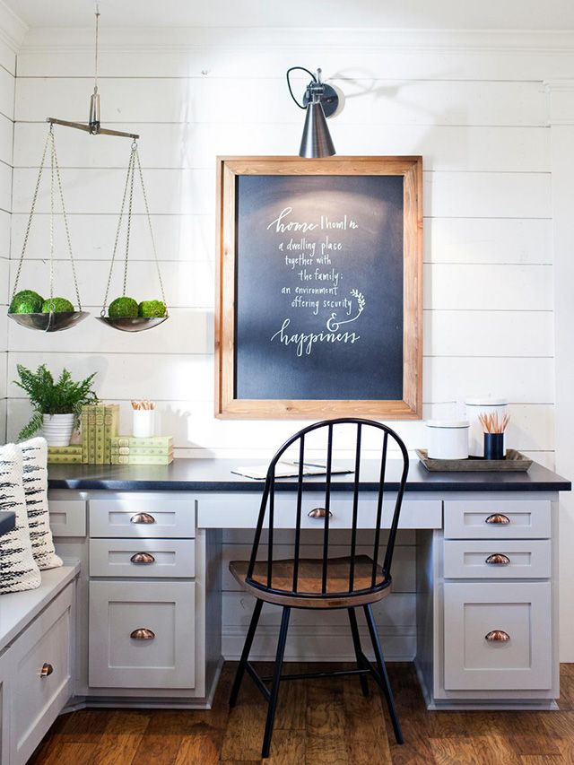Nice Michaela Noelle Designs: Fixer Upper Carriage House Tour. Farmhouse OfficeFarmhouse  StyleCountry OfficeFarmhouse DecorRustic ...