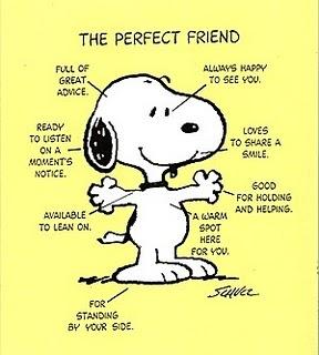 Snoopy friend