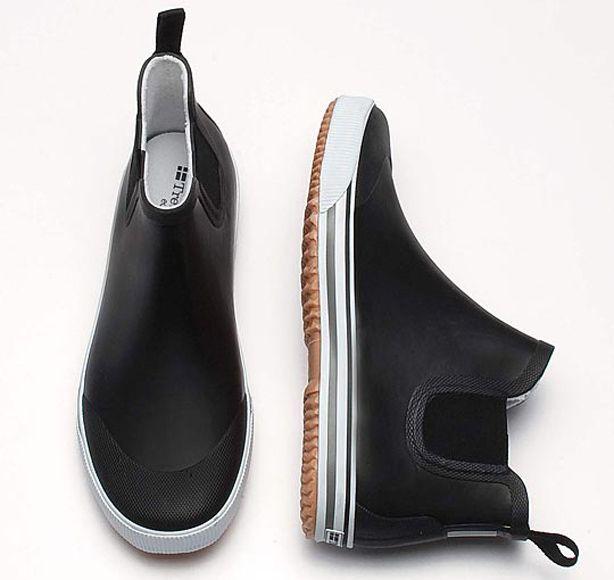 Shoe Porn: Tretorn Strala Black Rain Boot - The Best Boots for Men - Esquire