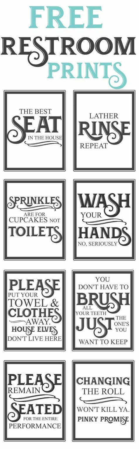 25 best ideas about bathroom printable on pinterest for Vintage bathroom printables