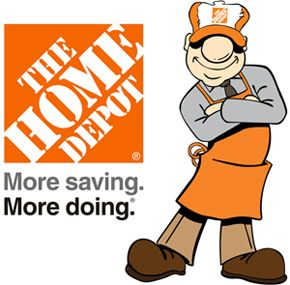 Home Depot Logo And Slogan PREVIOUSLY EMPLOYED AT Pinterest - The home depot logo