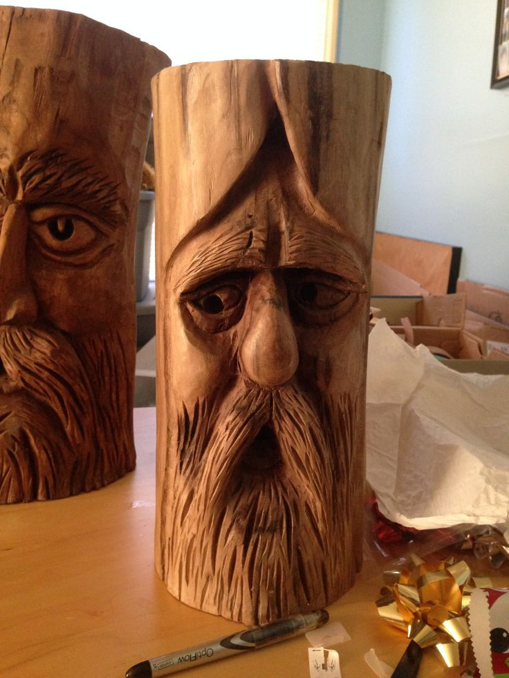 17 best images about tree spirits on pinterest folk art for Best wood to carve with