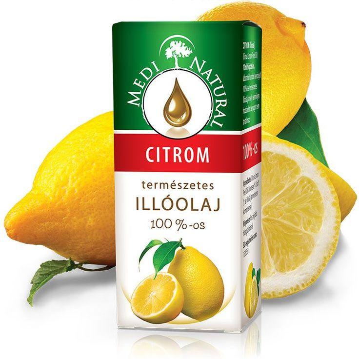 MEDINATURAL100%-os CITROM ILLÓOLAJ/ Citrus limon/