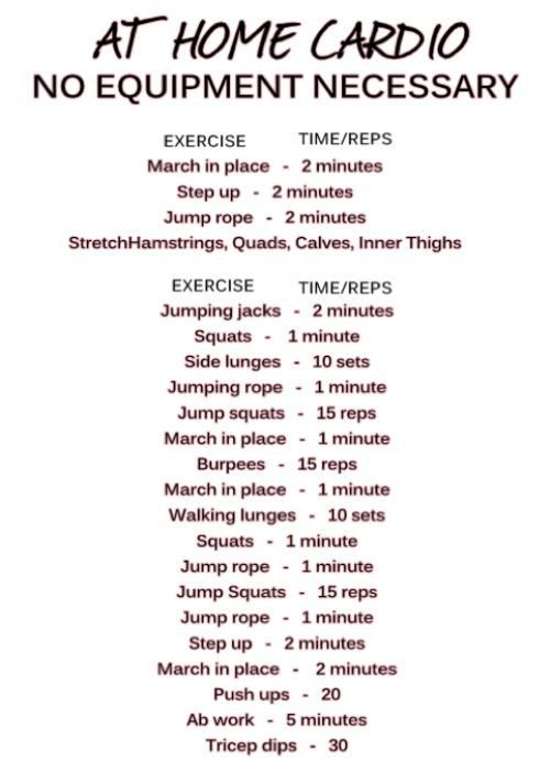 17 Best ideas about Home Cardio on Pinterest | Cardio at ...