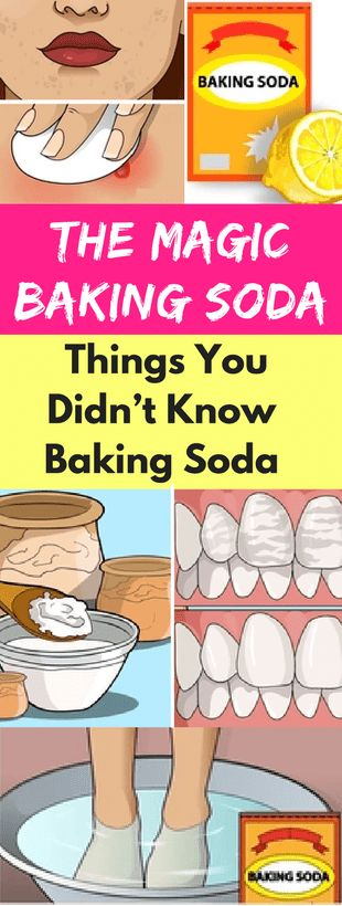 The Magic Baking Soda- Things You Didn't Know Baking Soda Could Do -
