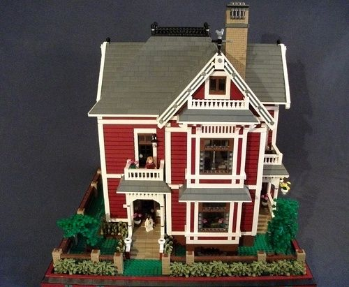Charmed Victorian Home A Lego Creation By Boise Bro