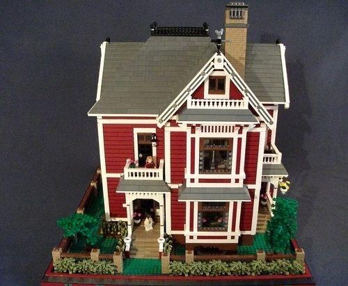 1000 Ideas About Lego House On Pinterest Lego Creations