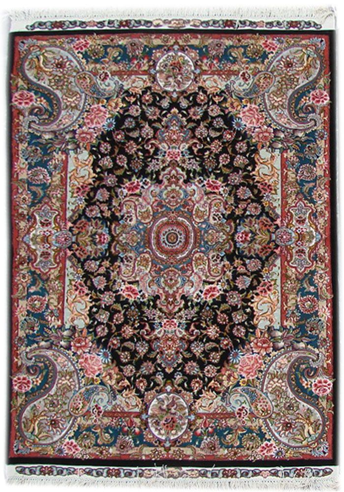 Tabriz Silk Persian Rug | Exclusive Collection Of Rugs And Tableau Rugs    Treasure Gallery Tabriz