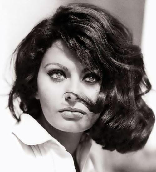 Sophia Loren...stunning was invented to describe her.