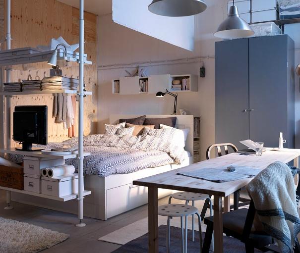 Looooooooove This Ikea Bedroom. Basically Stealing Every Idea For My New  Bedroom