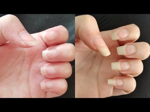 HOW TO GROW YOUR NAILS FAST IN A WEEK