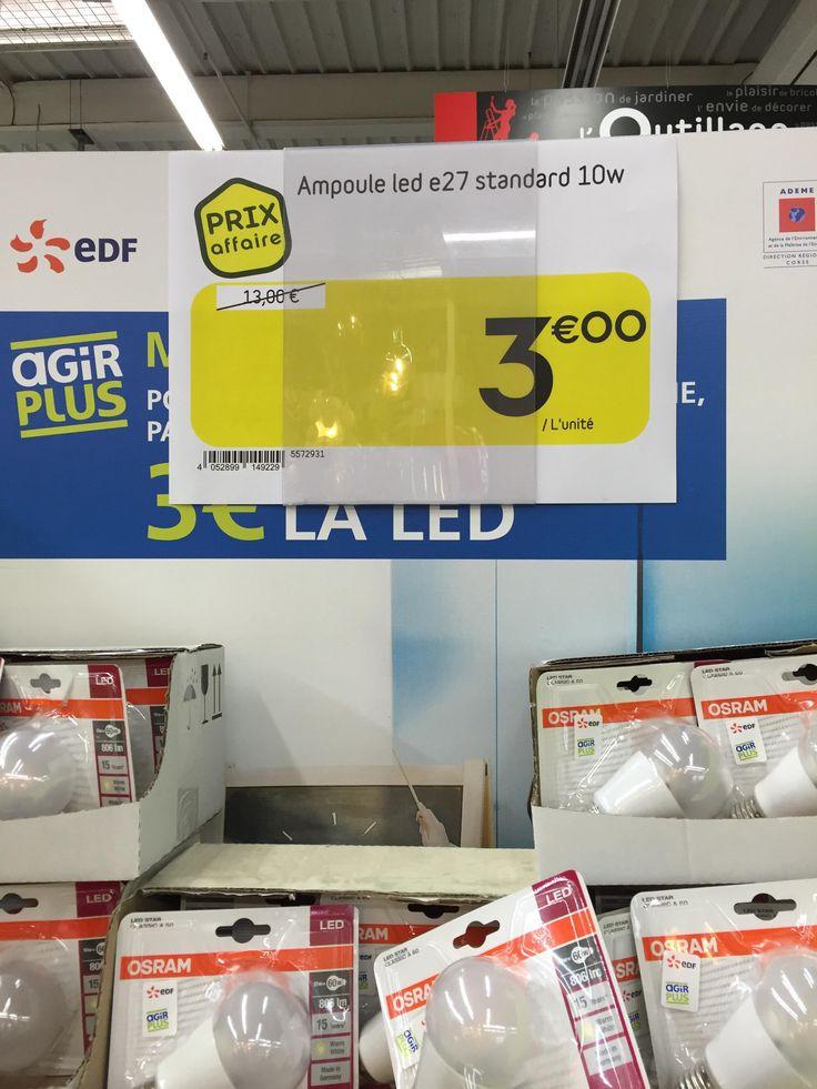 Good Ampoule LED Osram E W uac en magasin Weldom Corse
