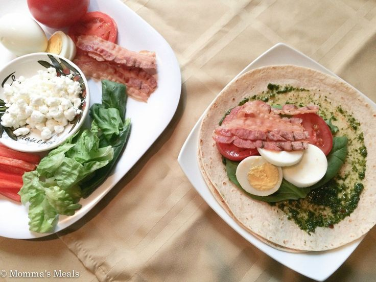 Skinny Egg & BLT Wrap_-