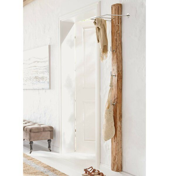 Garderobe Donohue In 2020 Wandgarderobe Garderobe Holz Und