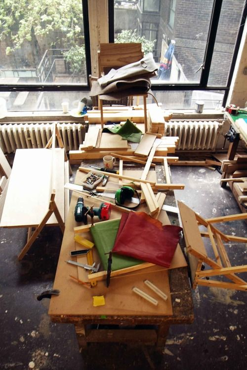 Folding Bench Work In Progress at the Royal College of Art in London