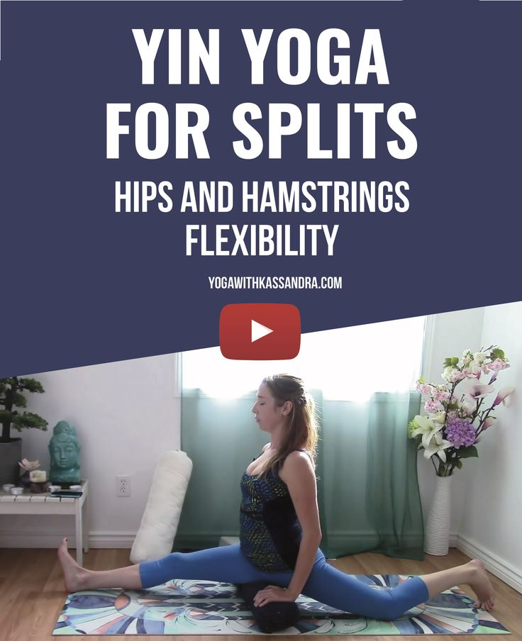 """For many people, just hearing the word """"splits"""" is intimidating. I can't emphasize enough how important it is to work towards them, easing in slowly and carefully, rather than jumping right into an attempt. The preparation for splits is something which is accessible to all levels of yoga students, whether you want to work towards the full pose or not. With this practice and these poses the biggest thing is to keep an open mind. Even if you don't envision full splits ever being a..."""
