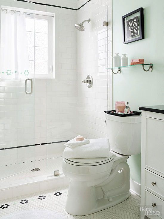 1000 ideas about small vintage bathroom on pinterest - Decorating with almond bathroom fixtures ...