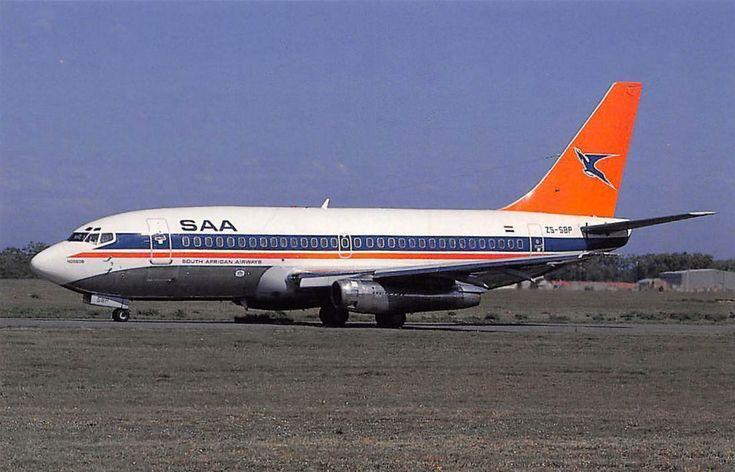 SAA Boeing 737-244 Nossob ZS-SBP in Port Elizabeth