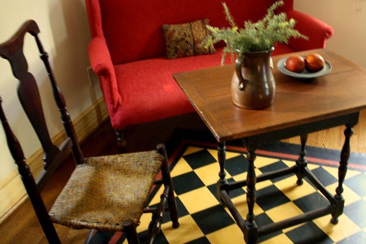 SMB Period Interiors by Sheila Belanger | Colonial Decor | Pinterest