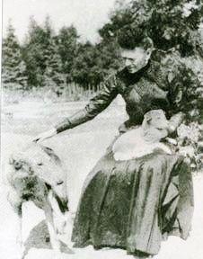 Кн. О́льга Алекса́ндровна Щерба́това, ур. гр. Строганова (1857-1944)