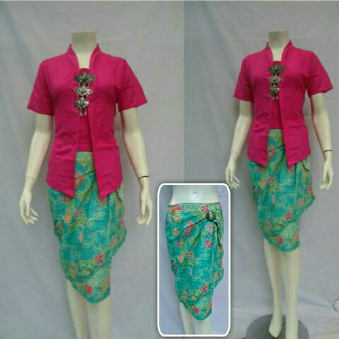 baju batik | rnb batik | batik pesta | batik kantor | dress batik | rok n blus batik | rok batik lilit | rok lilit | rok wiru - 4