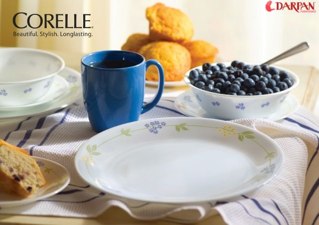 Enhance Your Dinning Experience with Corelle Dinner Set.
