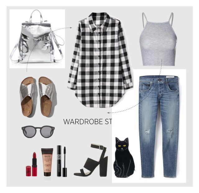 """black and white"" by rw-74 on Polyvore"