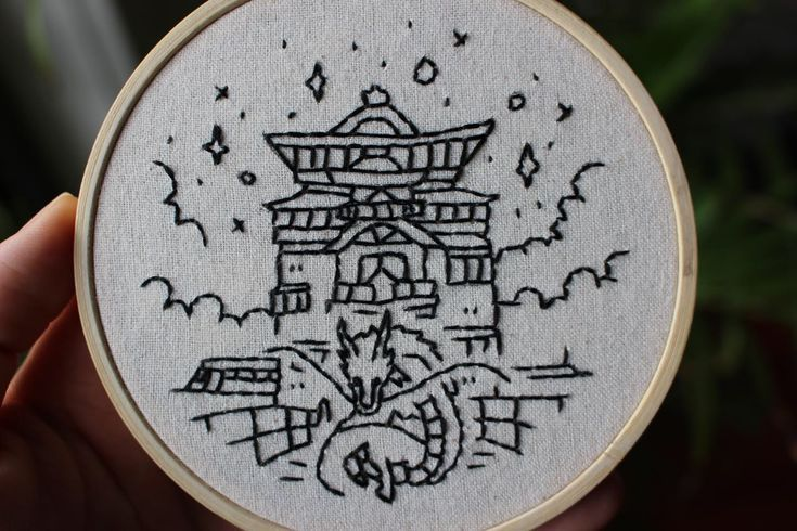 Aesthetic embroidery anime