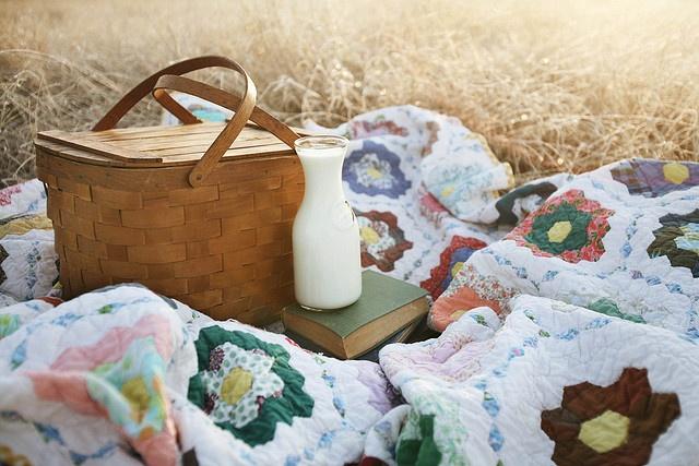 picnicking.