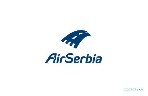 Air Serbia | Logo a Day | Logo a Day