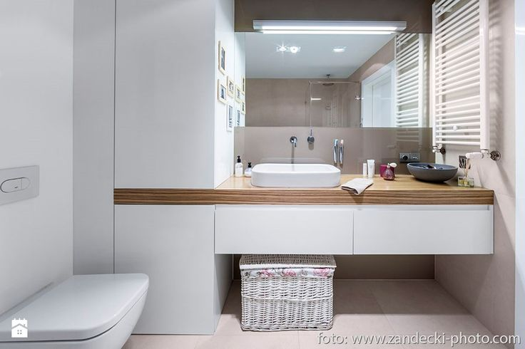 * mieszkanie kraków tyniecka - Łazienka, styl nowoczesny - zdjęcie od d e s e n i e