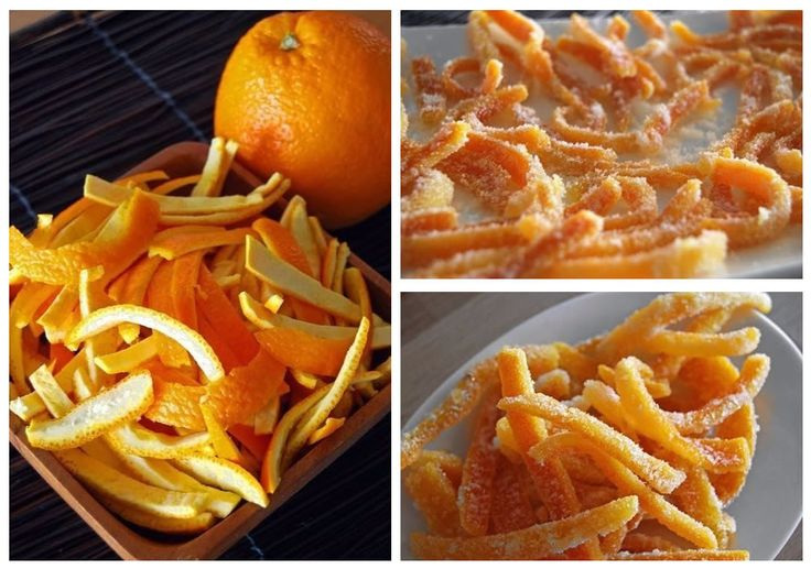 Kandizovaná pomarančová kôra
