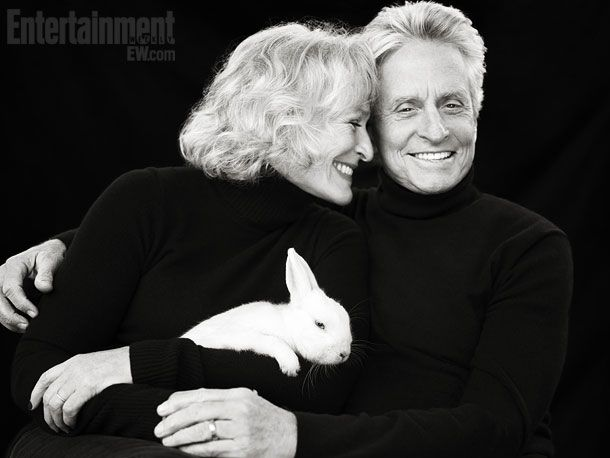 Glenn Close and Michael Douglas: Entertainment Weekly Cast Reunion by Richard Phibbs, October 7th 2011