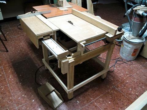 Lucas Contreras's Homemade table saw